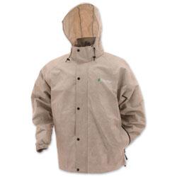 Frogg Toggs Men's Pro Action Tan Rain Jacket