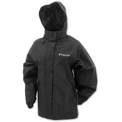 Frogg Toggs Women's Pro Action Black Rain Jacket
