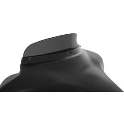 Memphis Shades 3″ Dark Black Smoke Spoiler Windshield