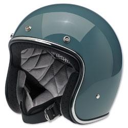 Biltwell Inc. Bonanza Gloss Agave Open Face Helmet