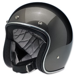 Biltwell Inc. Bonanza Bronze Metallic Open Face Helmet