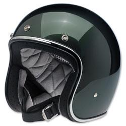 Biltwell Inc. Bonanza Sierra Green Open Face Helmet