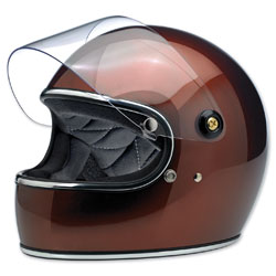 Biltwell Inc. Gringo S Bourbon Metallic Full Face Helmet