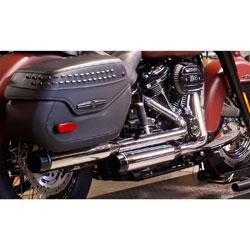 Rinehart Racing 3.5″ Slip On Muffler Chrome with Black End Cap