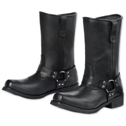 Tour Master Men's Renegade Black Leather Boots