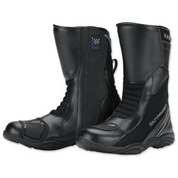 Tour Master Women's Solution Waterproof Air Black Boots