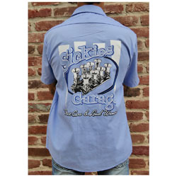 Sick Boy Men's Sickie's Garage Injection Blue Work Shirt