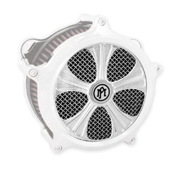Performance Machine Syndicate Faceplate for Super Gas Air Cleaner Chrome