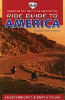 AMA Ride Guide to America Book