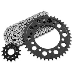 RK Chains 520 15x41 Steel Quick Acceleration Chain and Sprocket Kit