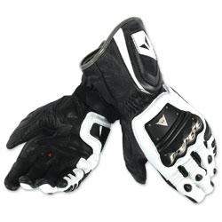 Dainese Men's 4 Stroke Long White/Black Gloves