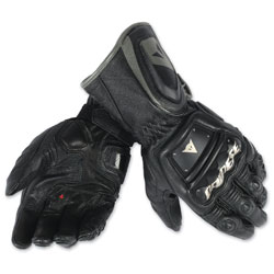 Dainese Men's 4 Stroke Long Black Gloves