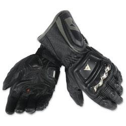 Dainese Men's 4 Stroke Long Black Gloves