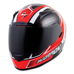 Scorpion EXO EXO-R2000 Launch Neon Red Full Face Helmet