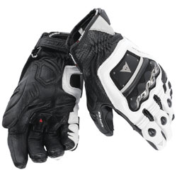 Dainese Men's 4 Stroke Evo White/Black Gloves