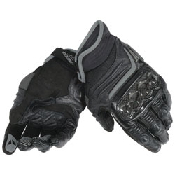 Dainese Men's Carbon D1 Short Black Gloves