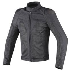 Dainese Men's Hyper Flux D-Dry Black Jacket