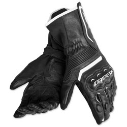 Dainese Men's Assen Black/Black/White Gloves
