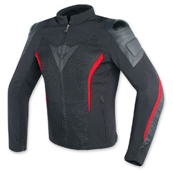 Dainese Men's MIG Black/Red Jacket