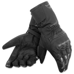 Dainese Unisex Tempest D-Dry Long Black Gloves