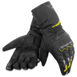 Dainese Unisex Tempest D-Dry Long Black/Fluo Yellow Gloves