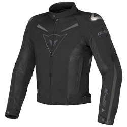 Dainese Men's Super Speed Black/Dark Gray Textile Jacket