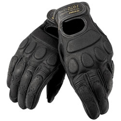 Dainese Unisex Blackjack Black Leather Gloves