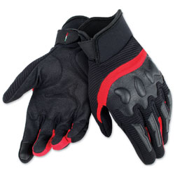 Dainese Unisex Air Frame Black/Red Gloves