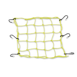BikeMaster Yellow Stretch Net