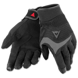 Dainese Unisex Desert Poon D1 Black/Gray Gloves