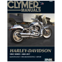 Clymer V-Rod Repair Manual