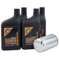 Milwaukee Twins Engine Oil Change  Kit