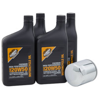 Milwaukee Twins Oil Change Kit