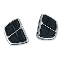 Kuryakyn Chrome Kinetic Mini Floorboards without Adapters