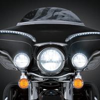 Kuryakyn 7″ ECE LED Headlamp, Left Drive