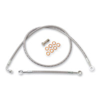 Arlen Ness Brake Line Kits for Single Disc, Dual Caliper Legs