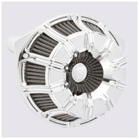 Arlen Ness Inverted Series 10-Gauge Chrome Air Cleaner Kit