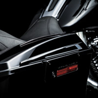 Kuryakyn Bahn Saddlebag Lid Accents