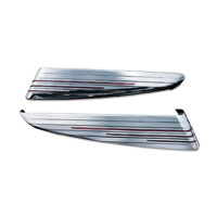 Kuryakyn Chrome L.E.D. Saddlebag Extensions