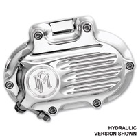 Performance Machine Fluted Polished 5-Speed Transmission Side Cover