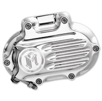 Performance Machine Fluted Clutch Release Cover Chrome
