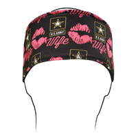 ZAN headgear U.S. Army, Wife Kisses Headband