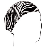 ZAN headgear Zebra Print Headwrap