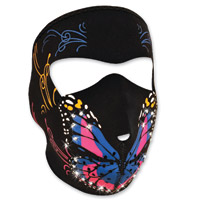 ZAN headgear Highway Honey Butterfly Neoprene Face Mask