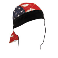 ZAN headgear Patriotic Vented Sport Flydanna Headwrap