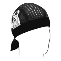 ZAN headgear Skulls Vented Sport Flydanna Headwrap