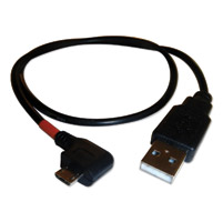 3BR Powersports Red Band Smartphone Charging Cable