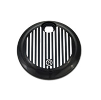 Performance Machine Contrast Cut Grill Fuel Door