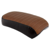 Le Pera Brown Pleated Bare Bones Passenger Seat