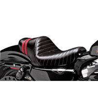 Le Pera Stubs Spoiler Seat - Red Stripes